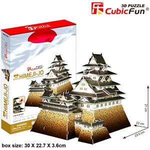CUBIC FUN Himeji Castle Japan 3D Architecture Model DIY Puzzle Building Kit Toy