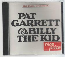 BOB DYLAN PAT GARRET & BILLY THE KID  CD