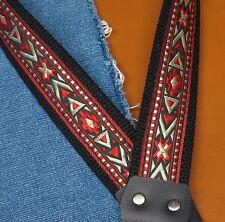CHEYENNE Cotton USA - made A & F style TROPHY Mandolin Strap