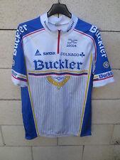 Maillot cycliste BUCKLER vintage Tour de France 1990 Colnago jersey trikot L