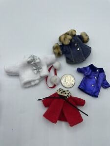 Barbie Kelly Doll Baby NURSERY Clothing Lot ACCESSORIES Clothes SNOW COAT JACKET