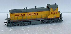 Atlas HO item #9937 UNION PACIFIC RAILROAD (UPY) MP-15DC #1338 DCC/Sound