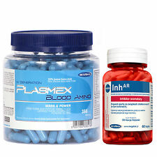 Plasmex 350Caps + InhAR 60Caps Animal Amino Acids Pack + Testosterone Booster