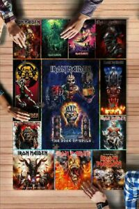 I Love Iron maiden rock band Jigsaw Puzzle 1000 Pieces