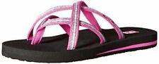 NEW Teva Women's Olowahu Flip-Flop, Pintado Raspberry, Women Size 6