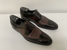Mens DOLCE & GABBANA Leather, Brown Lace-up Brogues UK 9 (43).