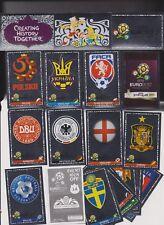PANINI UEFA em 2012 EVENT KICK OFF tutti stemma completo 20 pezzi... MINT