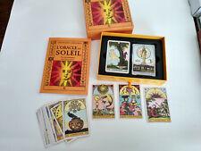 L'Oracle du soleil nouveau jeu de cartes divinatoires neuf sous emballage+livre