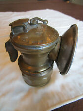 New listing Vintage Auto Lite Universal Brass Carbide Miner's Lamp Headlight Light Lantern