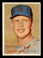 DON LEE RC 57 TOPPS 1957 NO 379 NRMINT+ 21400