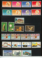 Thailand- Mainly 1980's Two Pages-Several Mnh Sets and Singles Cat Value $30+