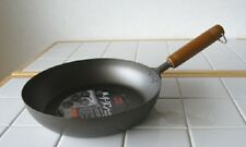 Pure Titanium Frying Pan with Wooden Handle 28cm 780g
