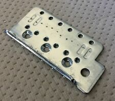 Fernandes Strat Style Electric Guitar Bridge Original Chrome Bridge Plate