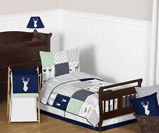 Sweet Jojo Woodland Arrow Blue Gray Boys Children Sheet Toddler Size Bedding Set