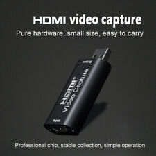 HDMI to USB 2.0 Video Capture Cards 1080P HD Recorder Game Video Live Streaming