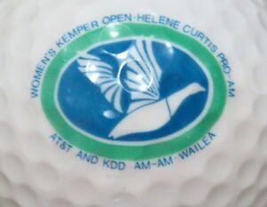 1990 WOMENS KEMPER OPEN @WAILEA HAWAII PGA & TOURNAMENT LOGO GOLF BALL
