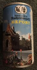 Brauhaus Rothenburg Export Beer Can Germany