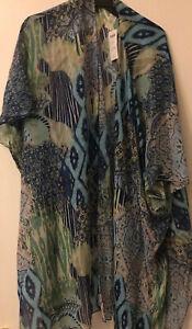 Chico's $99 Kimono Cover-Up Multicolor NWT Size S/M
