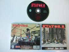 Stators - …Never Too Late  CD 1985 / 1998 Brennus