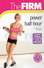 THE FIRM Power Half Hour w/ Emily Welsh DVD Fitness Training Exercise Video NEW