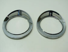 68-87 Jaguar XJ6 XJ12 Outer Headlight Bezels Pair