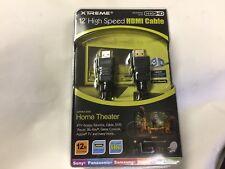 Xtreme 74112 12-Feet High Speed HDMI Cable NIB