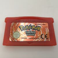 Authentic Pokemon FireRed | Nintendo Gameboy Advance GBA | Very Good Condition