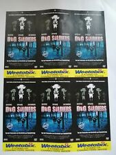 Dog Soldiers Unofficial Set Of 7 Weetabix Style non-detachable Cards. New.
