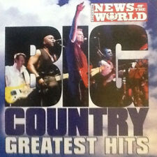 Big Country Greatest Hits Rare News Of The World Collectors Edition CD