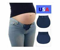 NEW Maternity Pants / Jean Pregnancy Insert waist extender adjustable Free ship!