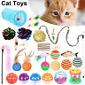 31X Game Mouse Toy Kitten Pet Cat Ball Chew Catnip Toy set Play Interactive Xmas