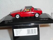 MINICHAMPS  1/43 FIAT X 1/9  + BOITE N° 360 de 450 vendu