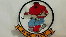 Navy NR Naval Air Station Jax 0167 Patch. 4 1/4 x 4 1/2 inches