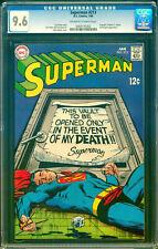SUPERMAN #213 (1969) ~ CGC 9.6