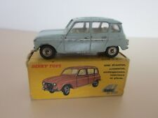 DINKY TOYS ..RENAULT 4L BLEUE REFERENCE 518