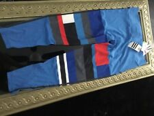 Ladies Adidas leggings new with tags size XL blue multicolor