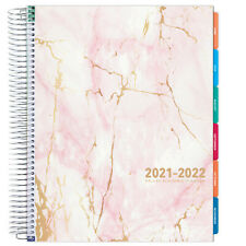 Deluxe 2021 2022 Planner 85x11 Pink Marble