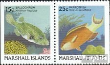 Marshall-Islands 172D/173D fine used / cancelled 1988 Fish