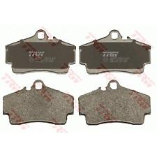 TRW REAR Brake Pads SET FOR for PORSCHE BOXSTER 986 M96.20 2.5L 1/1997-10/1999