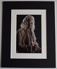 Rhys Ifans Signed Autograph 10x8 photo display Harry Potter Film AFTAL COA
