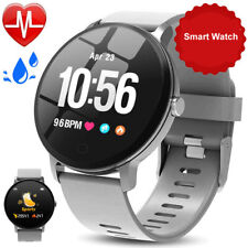 Sports Smart Watch for Men Women Fitness Tracker with Heart Rate Blood Pressure