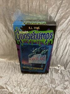 Ultimate Goosebumps One Day At Horrorland Parts 1 And 2 VHS