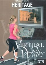 SINGAPORE HERITAGE VIRTUAL WALK WALKING TREADMILL WORKOUT DVD AMBIENT COLLECTION