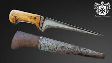 18th - 19th Century Indo Persian Pesh Kabz Dagger Knife With Sheath