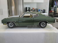 1/18 ACME A1805504 1970 CHEVROLET CHEVELLE 454 PILOT CAR GREEN *NEW* 1 OF 996