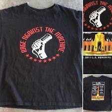 Rage Against The Machine LA Rising Ms Lauryn Hill Muse T-Shirt 2011