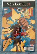 Ms. Marvel 7 Civil War II High Grade Comic Book ML1 - 95