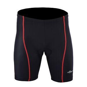 Men's Cycling Cool Max Padded Compression Shorts Nylon Lycra