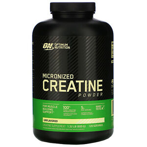 Optimum Nutrition Micronized Creatine Powder, Unflavored