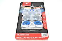 Speedo Swimming Goggles 3 Pack Set